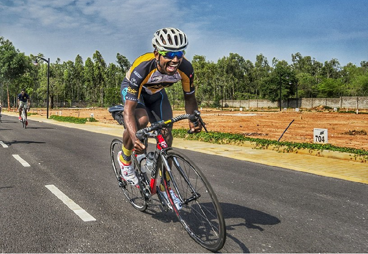 Bangalore Bicycle Championships Race to finish at Nandi Hills