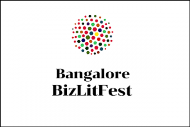 The logo of the Bangalore Biz Lit Fest