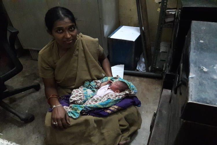Bengaluru cop goes beyond the call of duty breastfeeds abandoned newborn
