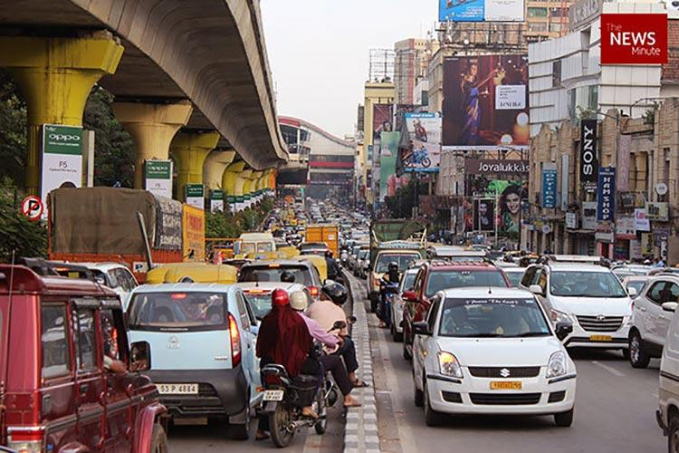 Bengaluru is Indias most congested and second slowest city US report