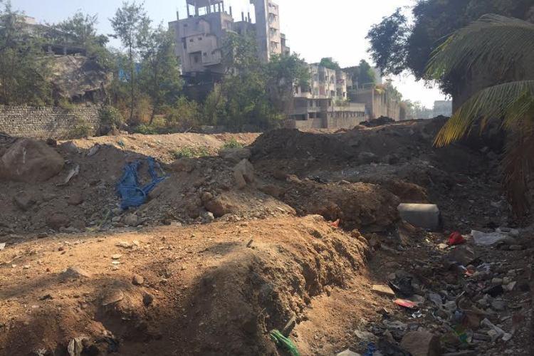 Debris continues to be dumped at Hyderabads Banjara Lake say activists
