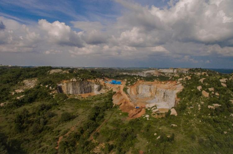 Illegal mining inside Bannerghatta National Park mark boundaries immediately say activists