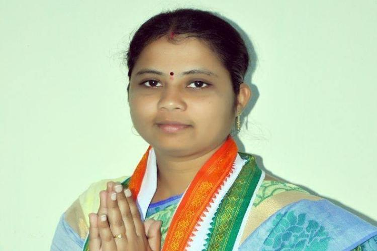 Another blow for Telangana Congress as MLA B Haripriya defects to TRS