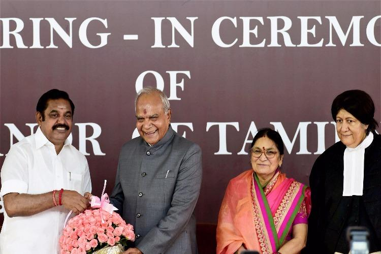 TN finally gets a full-time Governor Banwarilal Purohit sworn-in at Raj Bhavan