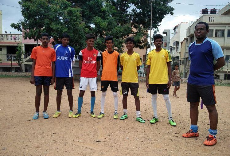 Barefoot in Bengaluru How football shapes the lives of young men in the city