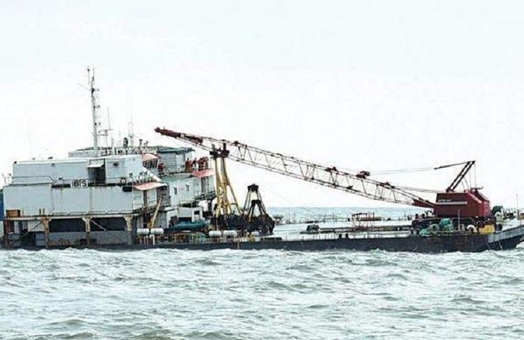 All crew members stranded on sinking barge off Mangaluru rescued by Coast Guard