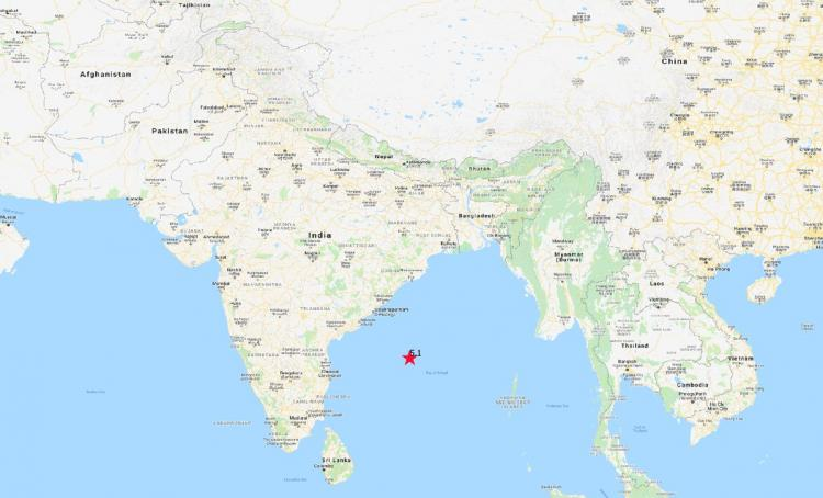 Tremors felt in Chennai as earthquake hits the Bay of Bengal