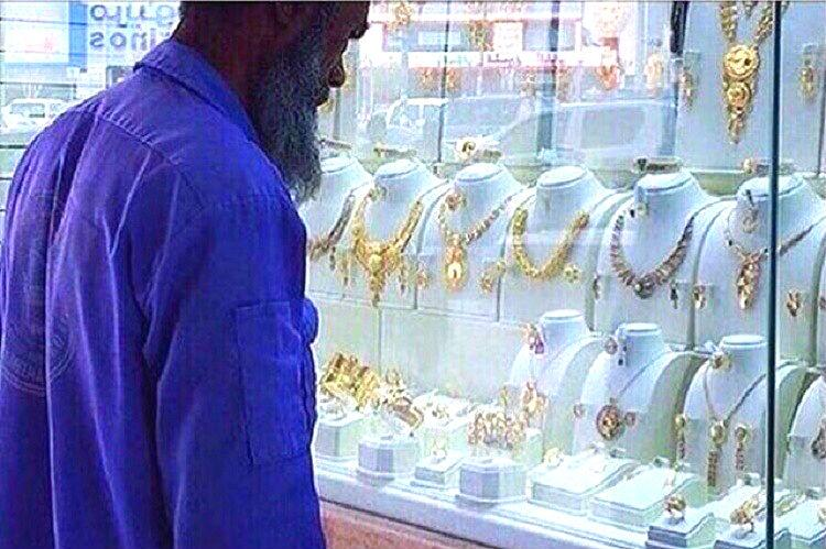 They mocked a cleaner for looking at jewellery internet showered him with gifts