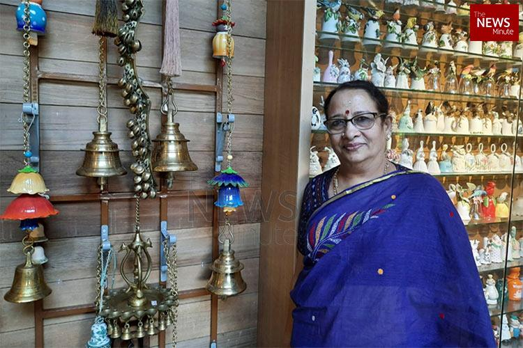 Meet Latha Kerala woman who has collected over 7500 bells