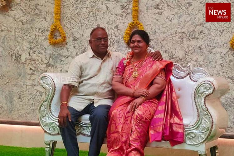 Karnataka Man Celebrates House Warming Ceremony With Late Wife's Silicon Wax Statue