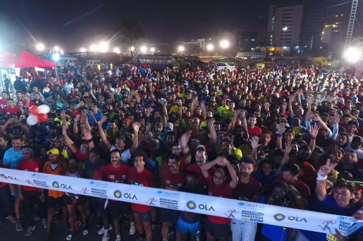 Marathon in a wheelchair Persons with disabilities to be part of Bluru Midnight Run
