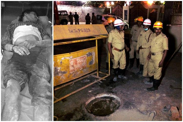 Death of 3 manual scavengers in Bengaluru Contractor claims he isnt responsible