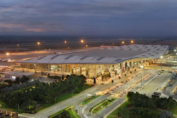 File Photo of Kempegowda International Airport at dawn