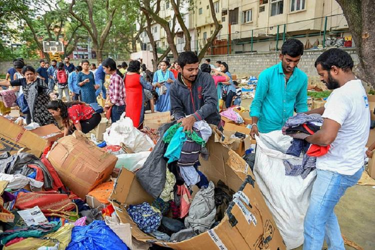 Floods recede in Karnatakas Kodagu relief work in full swing