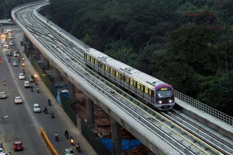 Bengaluru Metros Purple Line hit by temporary technical glitch causes delay