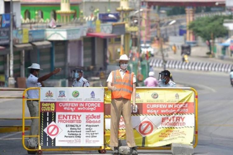 Lockdown imposed in Bengaluru