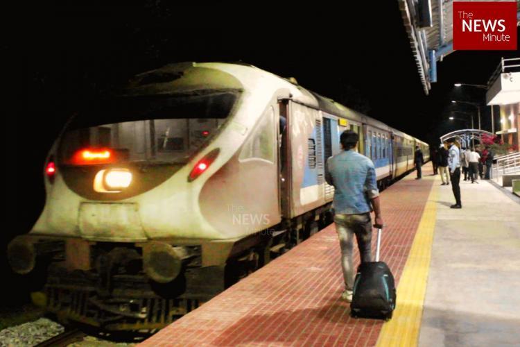 Bengaluru suburban train