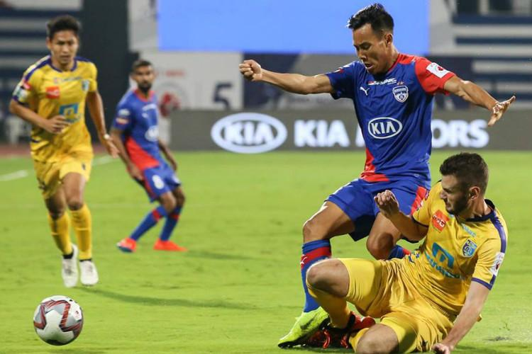 ISL Bengaluru fight back to snatch a point against Kerala