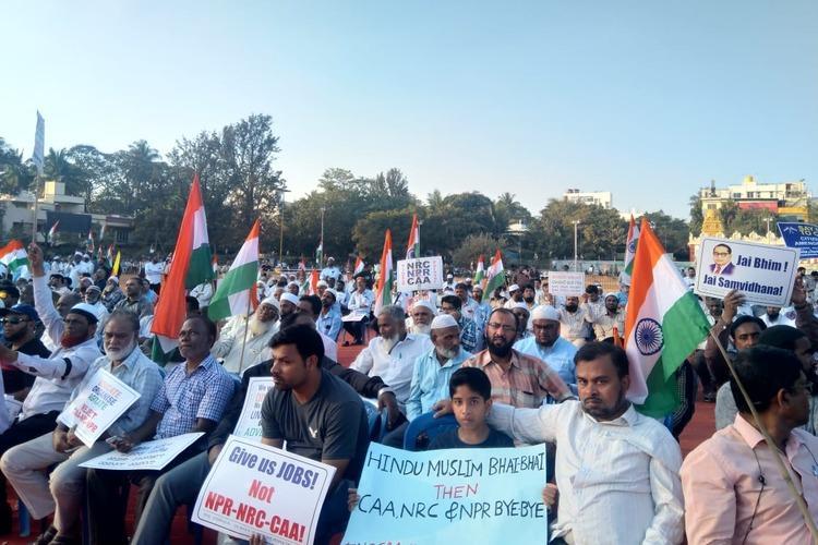 Cong not opposing NPR as they introduced it Kavita Krishnan at Bengaluru anti-CAA meet