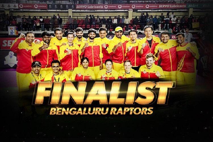 b55df36b97b9 Bengaluru Raptors beat Awadhe Warriors to enter PBL-4 final