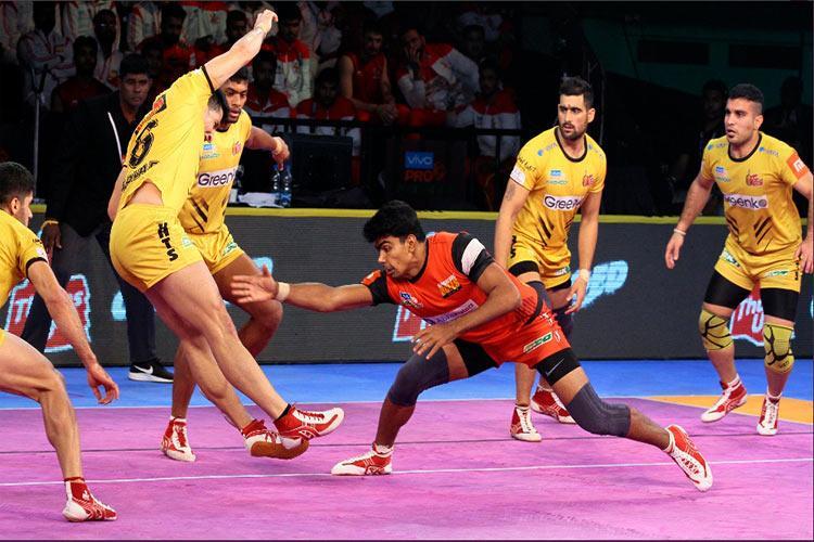 PKL Bengaluru outclass Telugu Titans Sehrawat top scores with 13 points