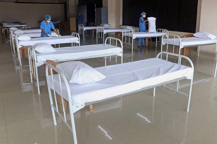 Beds for COVID-19 patients