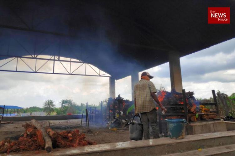 cremation in tavarekere