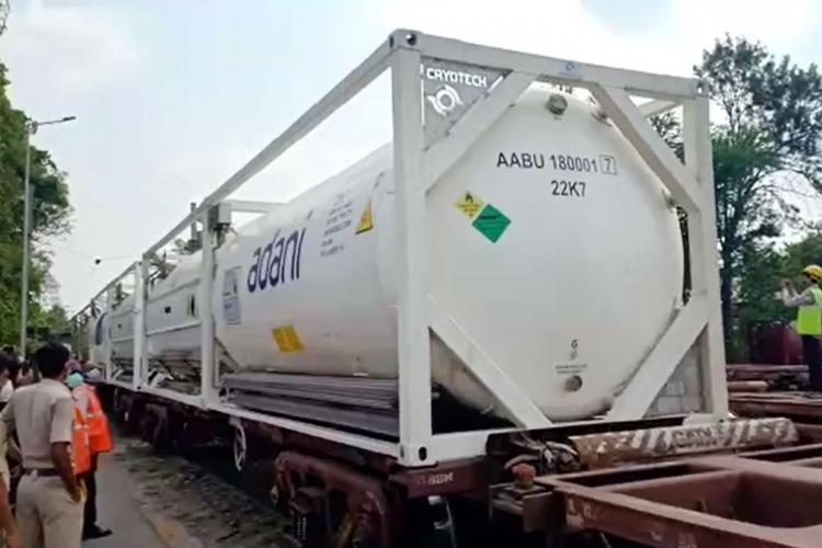 Oxygen Express in Bengaluru