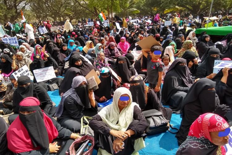 Bengalurus Shaheen Bagh Muslim women and the religious route to the Constitution