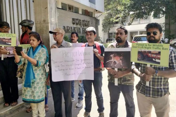 Night traffic ban in Bandipur Tiger Reserve will stay Ktaka govt backs activists