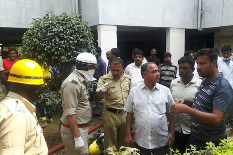 Manual scavenging deaths Is the police protecting residents of posh Bengaluru apartment