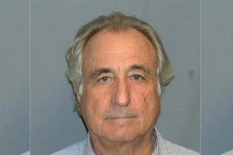 Bernie Madoff close up photograph