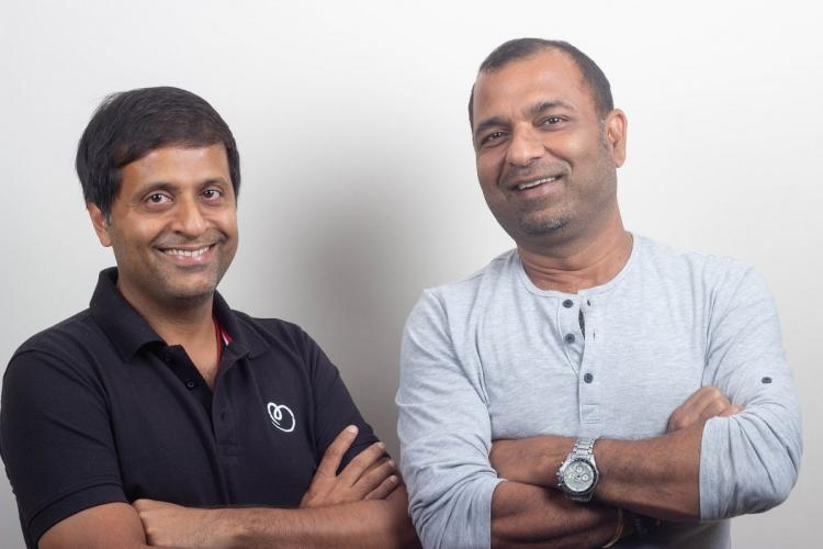 Betterplace cofounders Saurabh Tandon and Pravin Agarwala
