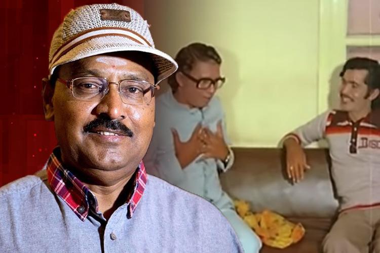Ek gaon mein ek kisan raghu thatha Bhagyaraj on why he wrote the Hindi-fail scene