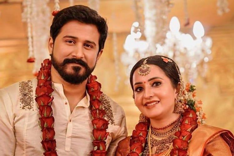 In pictures Malayalam actor Bhama weds businessman Arun