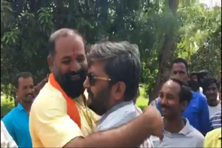 Telangana Dalits assault case Activists slam grand welcome given to accused