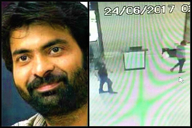 Actor Bharath accident CCTV footage shows Ravi Tejas brother drank liquor at Novotel