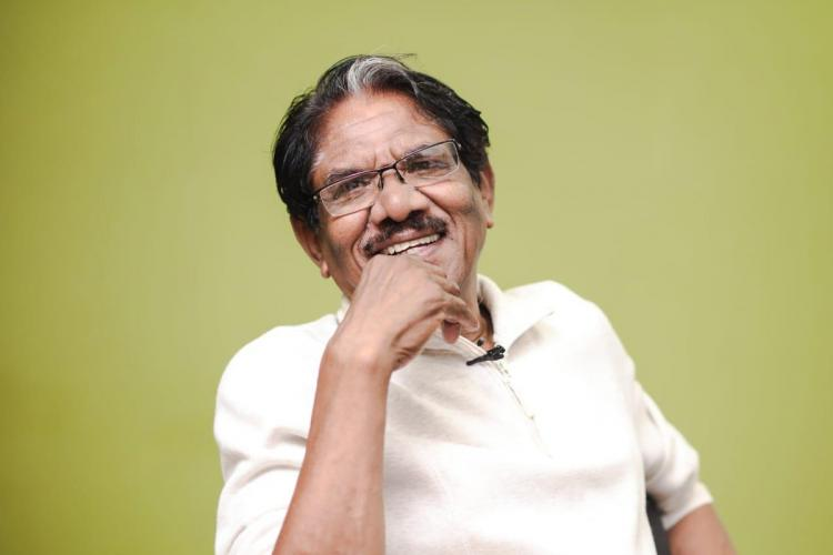 Bharathiraja green background