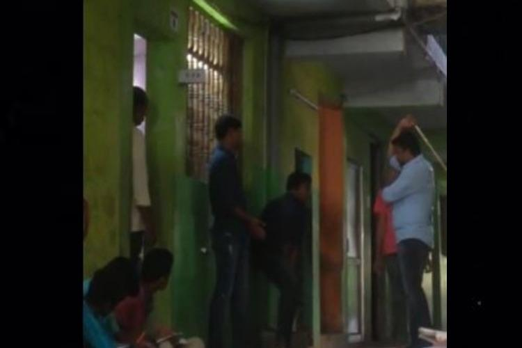 Andhra school principal caught on cam brutally caning students booked by police