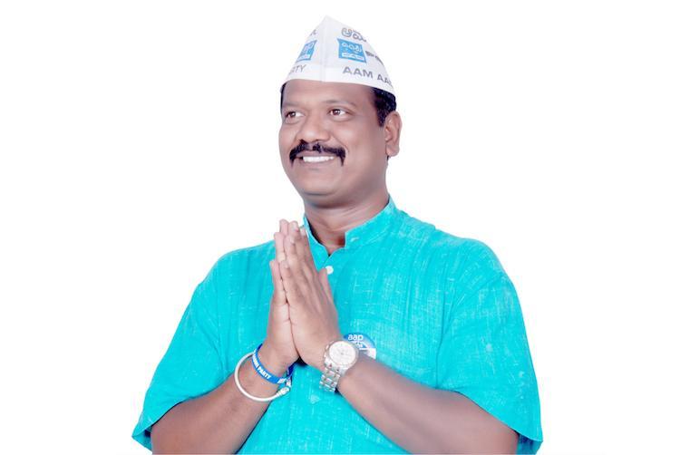 Inspite of BJPs stronghold over the Mahadevapura constituency AAP is hopeful