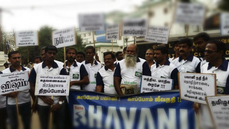 Killing us with toxic water Clean up Bhavani river demands Mettupalayam