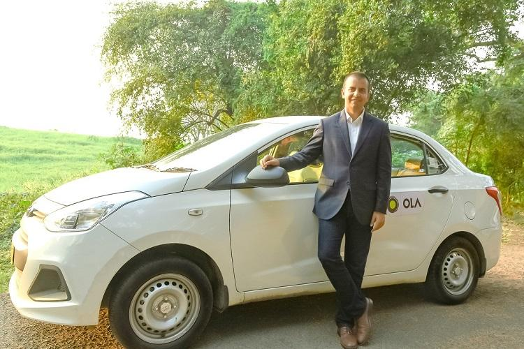 Softbank's Indian Uber challenger brand Ola is launching in the UK