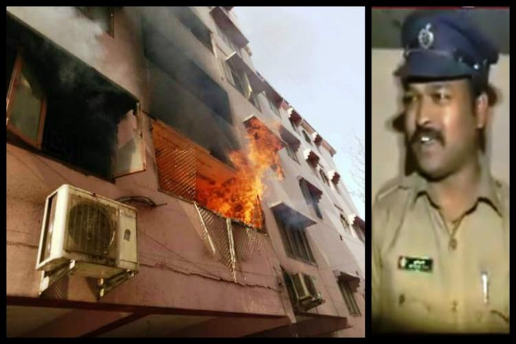 Hyderabads saviour cop This constables actions saved 50 people from a building fire