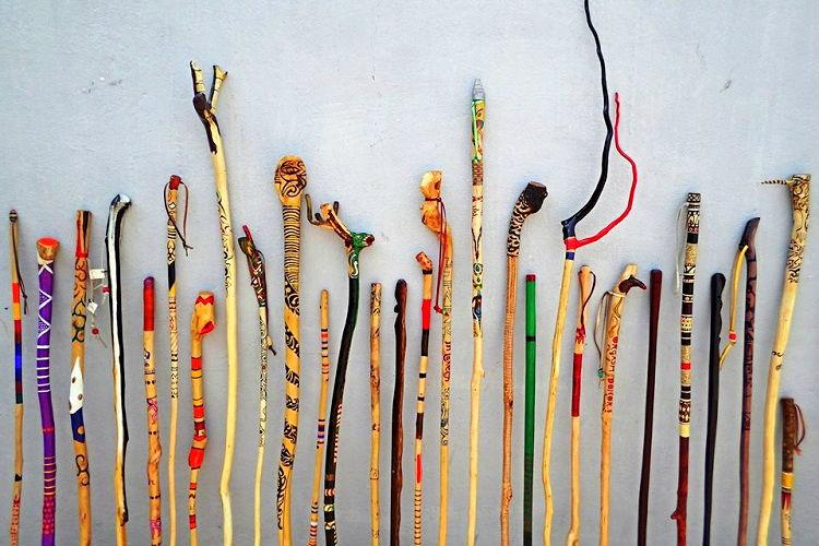 Wooden and expressive Bengaluru man turns forest sticks into art