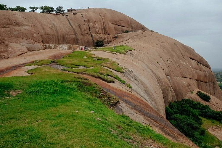 Photo Essay Geology and history come together at Bhongir near Hyderabad