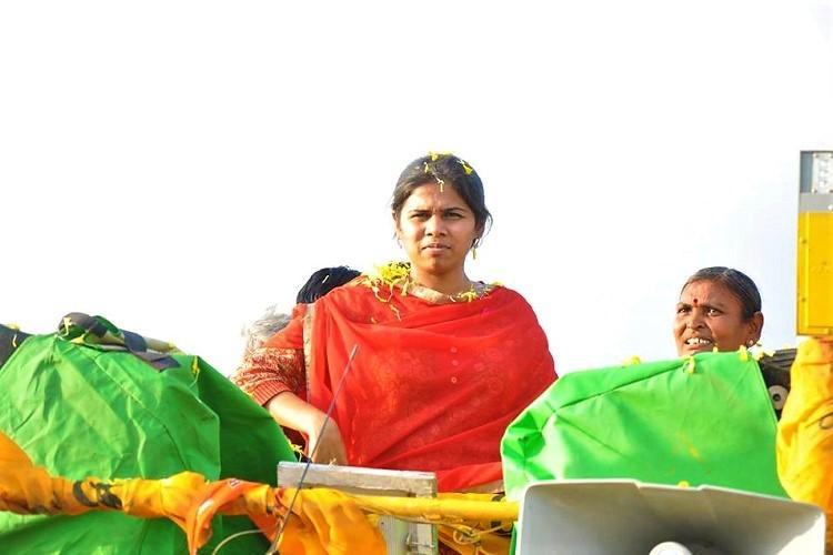 Andhras Nandyal bye-poll heats up Minister Akhila Priya invokes fathers name as CM campaigns
