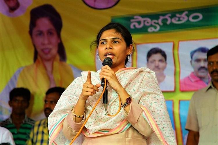 Will Akhila Priya quit TDP?