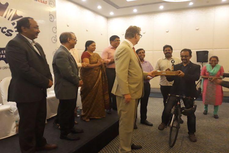 Pedalling his way to change Sathya Sankaran becomes Bengalurus first bicycle mayor