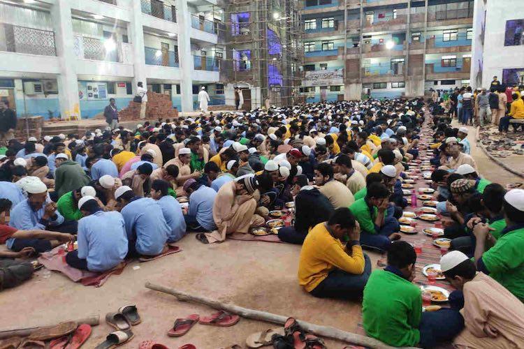 Hoping sedition case is withdrawn Bidar school students offer prayers