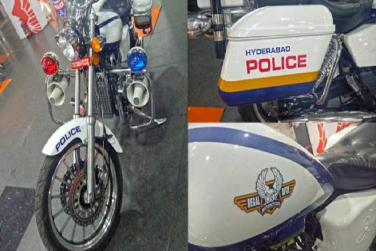 Hyderabad police get glam makeover Check out their stylish new Fab Regal Raptor bikes